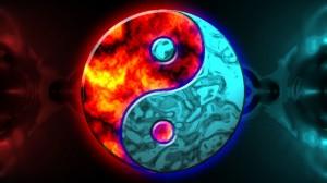 Yin-Yang energy transfer