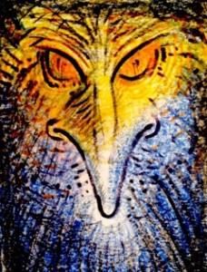 Avian ET Bird Tribe Art by Luther Birdmaker