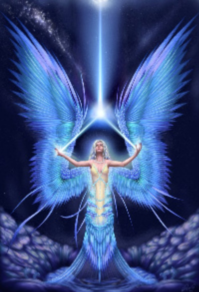 Involvement with earth the winged beings have been involved with earth
